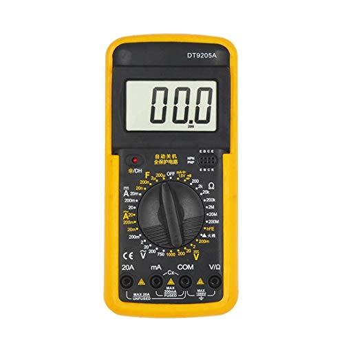 Swiftswan DT9205A Handheld Digital Multimeter 1999 Zählung AC/DC-Spannung Stromwiderstandsmesser Kapazitätsprüfdiodentester