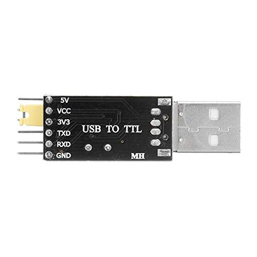 CKQ-KQ 10st CH340 5.5V / 3.3 V USB naar TTL Converter Module CH340G SCM STC Download Module Upgrade plankje Brush Board USB naar Serial Port Dual 3,3V en 5V Power Output Module