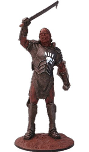 Lord of the Rings Señor de los Anillos Figurine Collection Nº 69 Uruk-Hai General