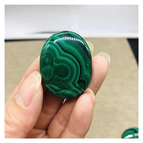 CHHNGPON Piedra Rugosa Colgante de Piedra de Cuarzo Crudo de Color Verde Natural de Pulido de Piedra Natural para Collar 1pcs