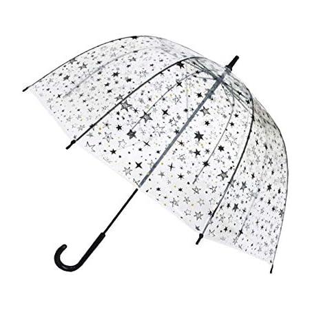 SMATI Smartbulle - Parapluie cloche transparent pour enfants, 67 cm, étoiles