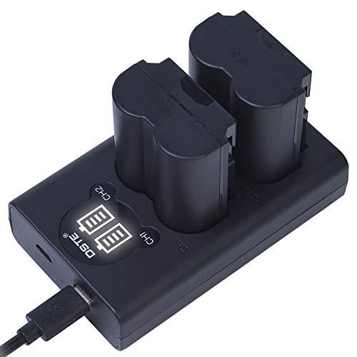 DSTE NP-W235 - Batería de repuesto para cámara digital Fuji XT4 (2 unidades, incluye cargador USB doble con pantalla LCD)