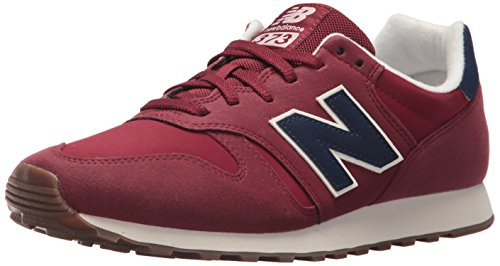 New Balance, Herren Sneaker, Rot (Red/blue), 41.5 EU (7.5 UK)
