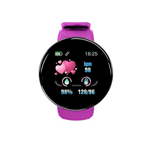 MOLINB Slim horloge Smart Watch Heren Dames Bloeddruk Rond Smartwatch Waterdicht Sport Smart Watch Fitness Tracker voor Android Ios