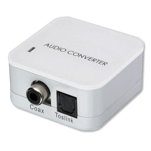 LINDY 70411 Audiokonverter und Extender SPDIF zu RCA Coax Beige