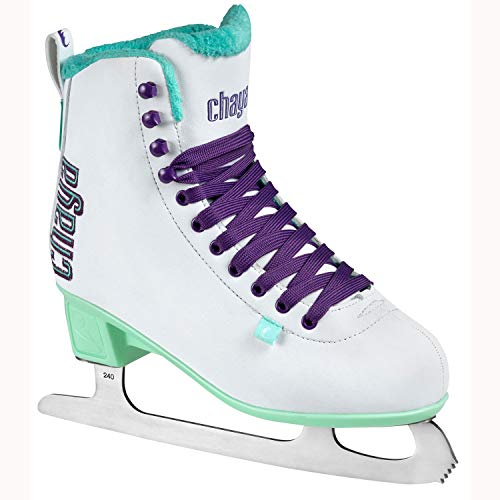 chaya Damen Classic White Schlittschuhe, Weiß, 38