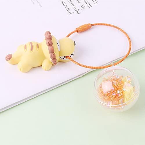 TSP Lindo llavero para parejas de llaves de coche, para decoración de bolsas de animales de dibujos animados (color: B)