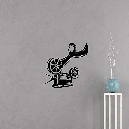 Wandtattoo Schlafzimmer Kinofilmkamera filmen