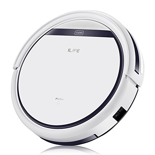 ILIFE V3s Pro Robot Vacuum Cleaner, Tangle-free Suction , Slim, Automatic Self-Charging...