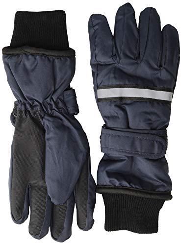 mikk-line Jungen Fingerhandschuhe Thinsulate Handschuhe, Blau (Blue Nights 287), S (Herstellergröße: 3-4Y)
