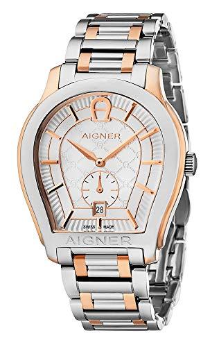 Aigner Herren-Armbanduhr Vicenza Analog Quarz A11107