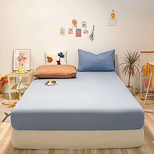 BOLO Sábanas de cama de algodón muy profundas, 135 x 190 x 30 cm