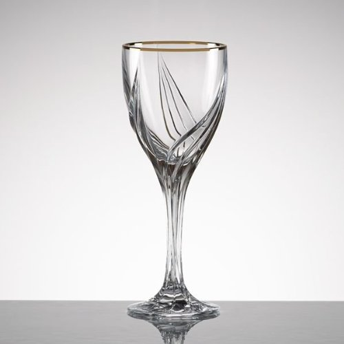 Debut Gold Crystal Wine Glass [Set of 4]