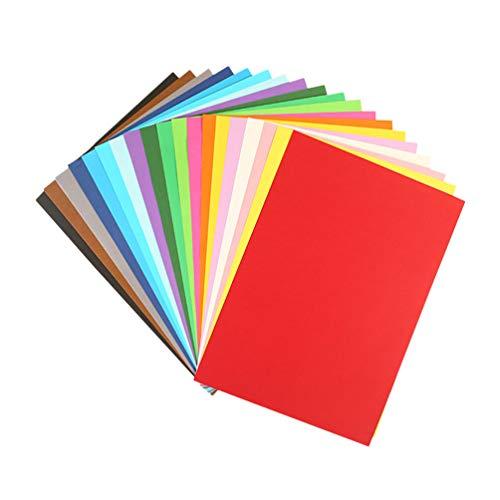 Healifty 300 piezas de papel origami de doble cara de papel plegado cuadrado de color para niños principiantes artes manualidades diy suministros (mezclado 10 colores)