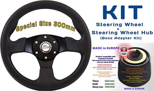 [RDi M1+170] DoradoTuning Volante Deportivo MÁS Piña de Volante/Volante Deportivo diámetro 300 mm