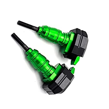 JBSM for Suzuki for Katana GSXF 600 750 1100 1997-2007 Motorcycle Fall Protection Sliding Frame Fairing Shock Protector Accessories  Color   Green