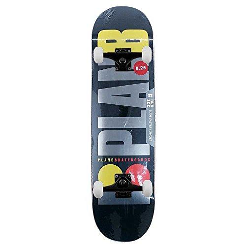 Plan B Skateboards Team Og Black Ice complete skateboard nero 20,8cm