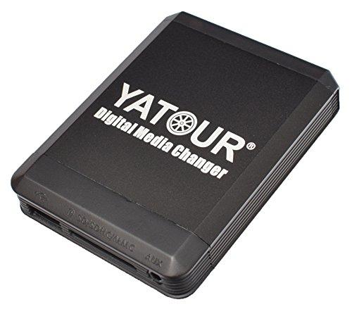 Yatour YT-M07-VW12 Digitaler Musikadapter für USB, SD,MP3,AUX, kompatibel mit iPhone, iPod, iPad Autoradio VW, Audi,Seat
