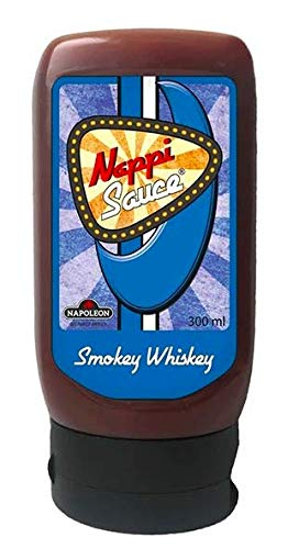 Dollie Sauce Dollie Sauce Nappi Smokey Whiskey 300 ml