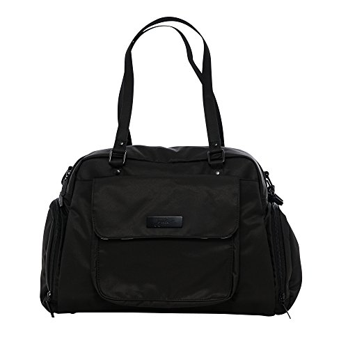 Best Prices! JuJuBe Be Pumped Insulated Breast Pump Bag, Onyx Collection - Black Out