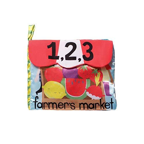 Manhattan Toy Cahier d'activités-Marché de producteurs-Jouet pour bébé, 214390, Multicolore, 8.5\