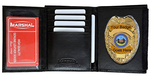 Wallet & Police Badge Holder - Style mw2516TA