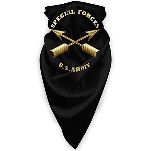 LCYYDECO Fuerzas especiales del ejército de EE. UU. Unisex bufanda deportiva a prueba de viento al aire libre Calentador de cuello Bandana Balaclava Sombreros