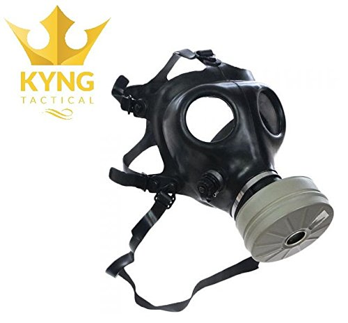 Israeli Style Rubber Respirator Mask NBC Protection For Industrial Use, Chemical Handling, Painting,...