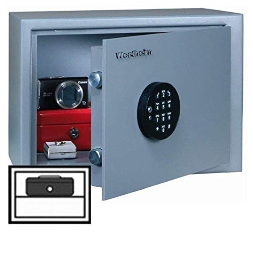 Wertheim Möbeleinsatztresor VBE03, Elektronikschloss M-Locks EM3520 inkl. Notstromversorgung, Klasse B nach VDMA 24992, H29xB41xT26.1 cm, 30 kg