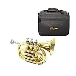 Rossetti Pocket Trumpet Lacquer Gold, ROS1146