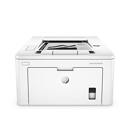 HP LaserJet Pro M203dw Laserdrucker (Schwarzweiß Drucker, WLAN, LAN, Airprint) weiß