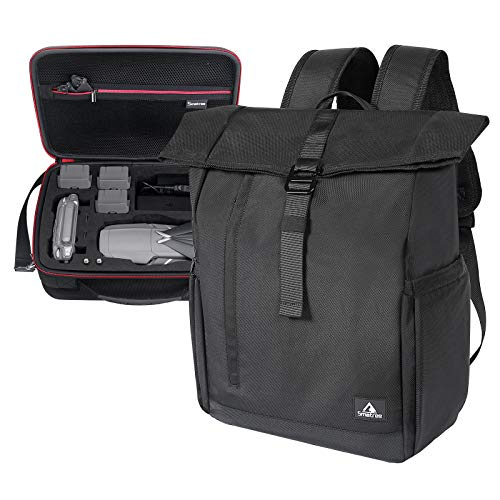 Smatree Backpack Compatible with DJI Mavic 2 Pro or DJI Mavic 2 Zoom/Laptop Backpack with USB Charging Port Compatible for 16.1inch Laptop, Two Bags in One (Drone and Accessories are NOT Included)