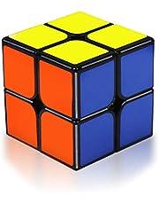 Coolzon Magic Cube 2x2x2 Speed Magic Cube 2x2 Magic Puzzle Cube 3d Puzzel Speelgoed voor Jongens Meisjes Kinderen Volwassenen
