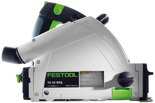 Festool 575388 TS 55 REQ Plunge Cut Track Circular Saw W/ 55' Rail