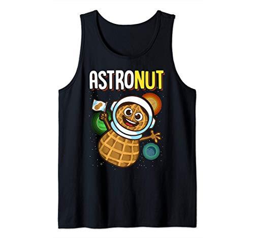 Jeu de mots des astronautes sur les cacahuètes Jeu de mots d Débardeur