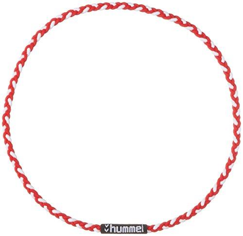 [ヒュンメル] ヘアバンド 三つ編みヘアゴム メンズ レッド×ホワイト (2010) 日本 フリーサイズ (FREE サイズ)