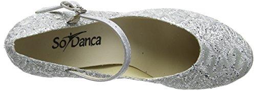 So Danca Bl166, Damen Tanzschuhe-Standard & Latein, Silber (Silver Sparkle), 39.5/40 EU (6.5 UK) - 7