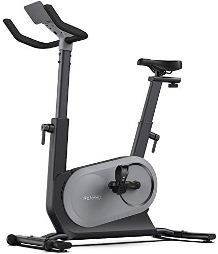 RENPHO AI Powered Exercise Bike Indoor Cycling Bike with FTP Power Training Auto Resistance product image