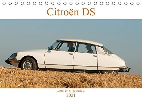 Citroën DS Göttin im Mittelrheintal (Tischkalender 2021 DIN A5 quer)