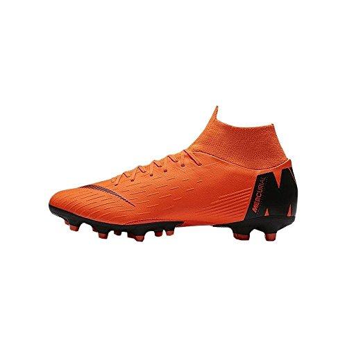 Nike Unisex-Erwachsene Mercurial Superfly VI Pro FG Fitnessschuhe, Mehrfarbig (Total Orange/Black T 810), 42.5 EU