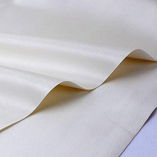 cuero para tapizar Cuero de imitación de cuero de la tapicería de vinilo Tela Tela fuego material retardante de pendientes arco haciendo bricolaje artesanías de cuero ropa del paño Confección de 1 met