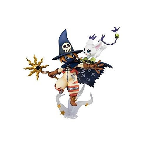 Digimon Adventure Adventure Wizarmon Gatomon Doll Ornamento
