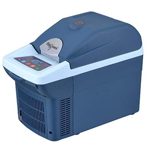 L@LILI Medizinische Geräte Kühlschrank für Schüler Kühlschrank für Kleinkinder Kühlschrank für Haushalt Heiz- und Kühlbox Muttermilchkühler Insulin-Kühlbox 6L