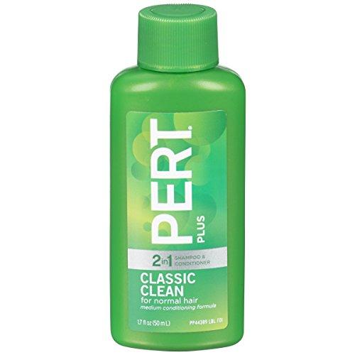 Pert Plus 2 in 1 Classic Clean-Travel/Guest Size-1.7 fl oz each by Pert