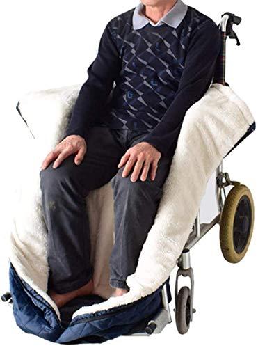 Rollstuhldecke Beindecke, Rollstuhldecke Winter, Rollstuhl Beinbezug, Rollstuhlsack Fußsack Schlupfsack Rollstuhl Sack, Schützt vor Kälte, Wind oder Regen Schlupfsack, Wärmesack