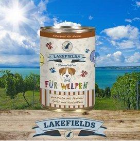 Lakefields Hochwertiges Premium Welpen Hundefutter Huhn (18 x 400g)