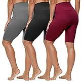 HLTPRO High Waist Biker Shorts for Women - 8