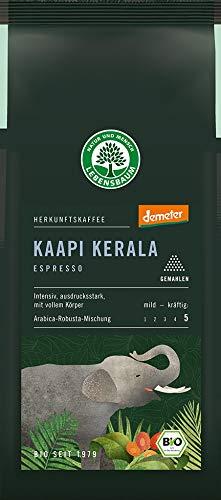 Lebensbaum Bio Espresso Kaapi Kerala, gemahlen (6 x 250 gr)