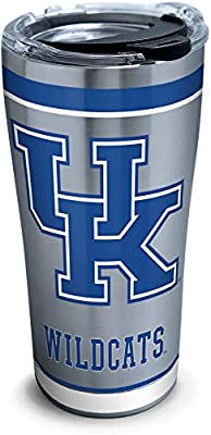 Tervis 1297979 NCAA Kentucky Wildcats Tradition Stainless Steel Tumbler with Lid