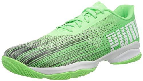 PUMA Unisex-Erwachsene Adrenalite 2.1 Fußballschuh, Elektro Green Schwarz Weiß, 44.5 EU